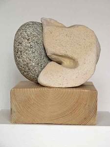 kleiobject-met-natuursteen-